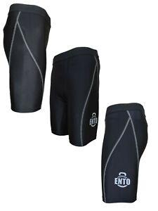 Ento Compression Shorts Mens Base Layer Sport Skins Under Gear Pants Gym