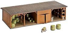 187 Decor kit batiment ferme hangard pour train HO 1/87