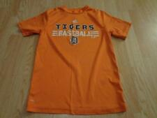 Youth Detroit Tigers M (10/12) Athletic Shirt Top (Orange) Adidas