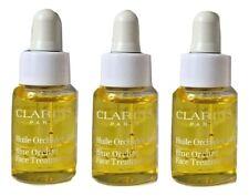 3 Clarins Blue Orchid Face Treatment Oil, Mini Size 0.17oz 5ml