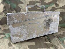 WW2 German MG34 MG42 Aluminium Ammo Box   Africa Korps Sand Camouflage   DAK