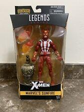 Marvel Legends X-Men Sunfire BAF Warlock Minor Box Wear