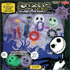 Yujin Tim Burton's Nightmare Before Christmas Jack face beads armband (set of 8)