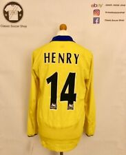 Arsenal HENRY #14 2003/05 Away Shirt Medium / M