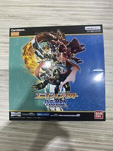 DIGIMON CARD GAME BOOSTER UNION IMPACT BT-03 BOX SET JAPANESE