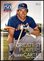 Gary Carter 2019 Topps Update 150 Years of Professional Baseball 5x7 #150-1 /49