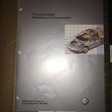 VW Manual 861403- Volkswagen JETTA Steering & Suspension- Service Training- NEW
