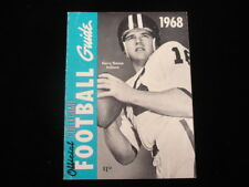 1968 Official NCAA Football Guide - Harry Gonso Cover