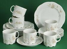 Rosenthal grüne Ranke 1 Kaffeegedeck 3 tlg.