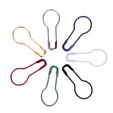 100pcs 21x9.5mm Mix Knitpro Maschenmarkierer Maschenmarker Locking Stitch