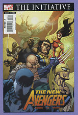 New Avengers #28 2007 The Initiative Brian Michael Bendis Leinil Yu Marvel D