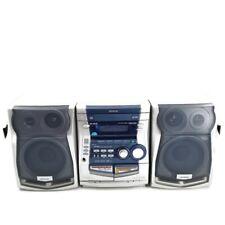 Aiwa NSX-HMT35 Audio System 3 CD/Radio/AUX/Dual Cassette Player