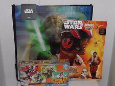 Star Wars YODA Gift Bag LOT Yoda Bag Resistance Color Book 4 Puzzle Pack DISNEY