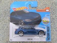 Hot Wheels 2017 #055/365 BMW M4 Bleu foncé Usine Frais