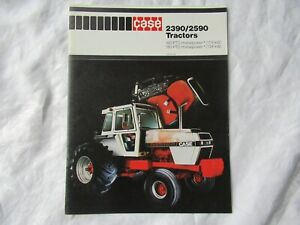 Case 2390 2590 tractor brochure