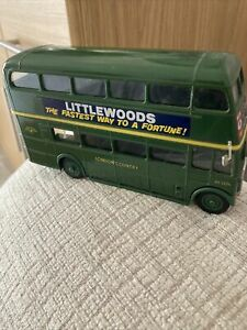 LONDON COUNTRY LONDON D /D BUS RT 3224  1/50 SCALE IN EX  CONDITION