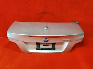 ⭐ Bmw E88 128 135 Convertible Rear Trunk Lid Shell Cover Panel Assembly Silv Oem