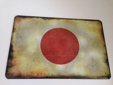 Blechschild Länder Fahne National Flagge Japan Japain 20x30 cm Deko  23