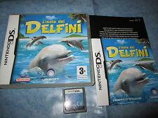 L'ISOLA DEI DELFINI per Nintendo DS, 3DS Boxed Pal ITA