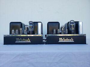 Vintage McIntosh MC-30 Tube Amplifiers PAIR. Sounds amazing! 5 Telefunken tubes.