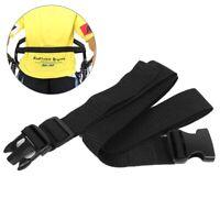 1pcs Wheelchair Seat Belt Medical Restraints Straps Safety lap Harness Black