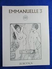 ~~ EMMANUELLE 3  GUIDO CREPAX ~ EUROTICA 1992 ~ OUT OF PRINT! ~~