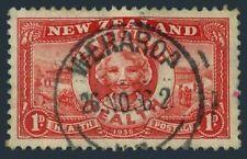 New Zealand B11,used.Michel 231. Health 1934.Girl.