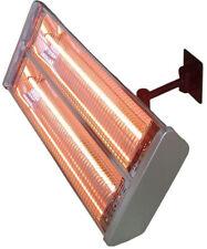 Wall-Mount Electric Patio Heater 1500-Watt Metal Infrared Outdoor Propane Switch
