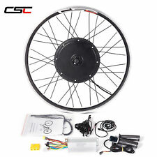 Conversion Kit Ebike 48V 1500W  20-29 inch Electric Bike Motor Wheel
