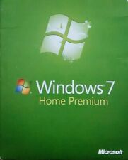 Windows 7 Home Premium 64 Bit Full Version Install DVD w/ Product Key