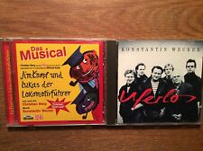 KOnstantin Wecker [2 CD Alben] Uferlos + Jim Knopf DAS MUSICAL