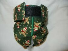 Female Dog Puppy Pet Diaper Washable Pants Sanitary Underwear TEDDY BEAR SM/MED