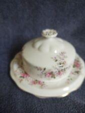 Royal Albert Covered Butter Dish- Lavender Rose Pattern