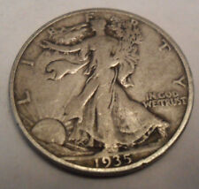 1935 S WALKING LIBERTY HALF DOLLAR COIN *90% SILVER* **FREE SHIPPING**