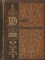 Deutsche Literaturgeschichte mit 160 Bildnissen, 35 Beilagen, Jahr 1879 R.Koenig