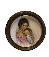 "Royal Bayreuth ""Mothers Day"" Young Americans 1979 Collector's Plate Leo Jansen!"