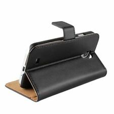 Leather Wallet Cases with Kickstand for Samsung Mobile Phones