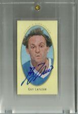 2011-12 Upper Deck Parkhurst Champions Champs Mini Autograph Guy Lafleur SP
