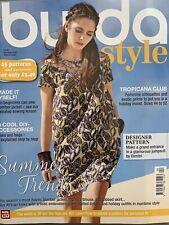 Burda Style Magazine April 4/2017 Summer Trends Tropicana Club Tropicana Club