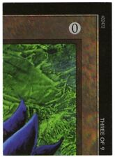 MTG 1 X PIECE THREE OF 9 FOR BLACK LOTUS QUEST PUZZLE OVERSIZED