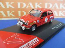 Die cast 1/43 Modellino Auto Renault 5TS Rally Shalymar 1980 C. Sainz