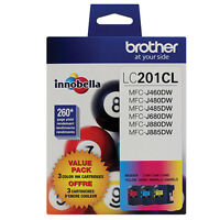Brother MFC-J880DW Cyan/Magenta/Yellow Original Ink Standard Yield (3 x 260 Yiel