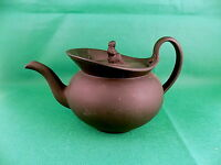 Wedgwood Black Basalt Teapot with Widow Finial