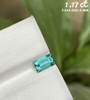 1.17 ct Natural indicolite blue Tourmline from Afghanistan