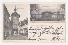Gruss aus Konstanz,Germany,Schnetzthor & Hussenstein,Baden-Wurttemberg,Used,1902