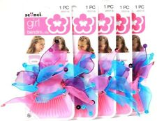 5 Scunci Girl 1 Piece Pink Purple Blue Bendini Clip Fun Stylish Easy To Use