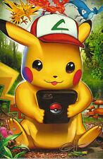Greg Horn Anime Comic Game Art Print ~ Pokemon Go / Pikachu