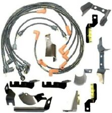 MoPar Date-Coded Spark Plug Cable & Bracket Set for 1967-1972 C-Body & Imperial