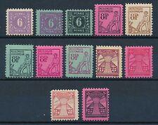 Ungeprüfte Deutsche Briefmarken der sowjetischen Besatzungszone aus Satz mit Postfrisch