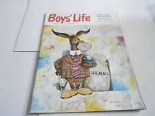 JUNE 1961 vintage BOYS LIFE MAGAZINE -  U.S. MAIL - SCI FI SERIAL STAR DWELLERS